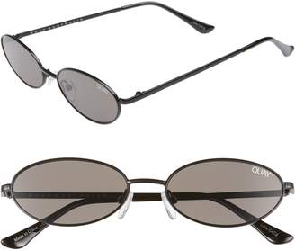 Quay Clout 54mm Round Sunglasses