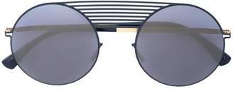 Thierry Lasry stormy round frame aviator sunglasses