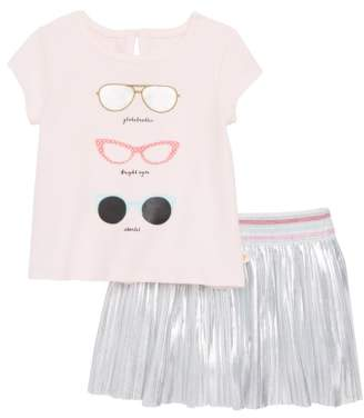 Kate Spade sunglasses top & skirt set