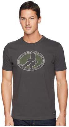 Life is Good Today's Bear Crusher Tee Men's T Shirt