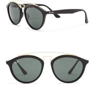 Ray-Ban Highstreet 55mm Browbar Sunglasses