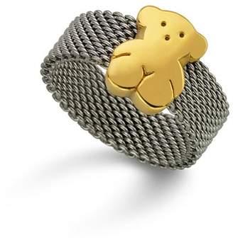 Tous Bear Mesh Ring