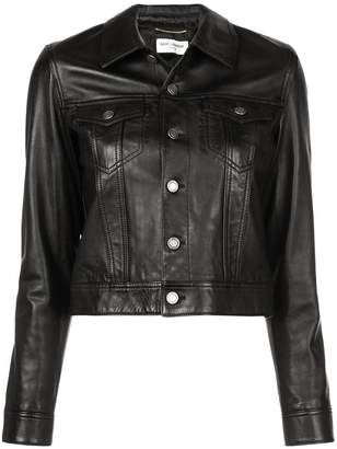 Saint Laurent denim-style jacket