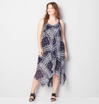 Avenue Patchwork Bandana Maxi Dress
