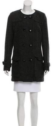 Etoile Isabel Marant Collarless Double-Breasted Jacket