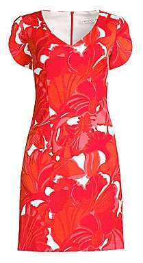 Trina Turk Women's Shangri-La Flight Printed Sheath Dress