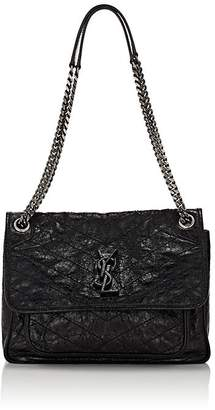Saint Laurent Women's Niki Medium Leather Shoulder Bag
