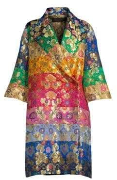 Romance Was Born Into Dreams Rainbow Coat