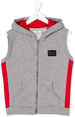 Philipp Plein Junior contrasting panels vest