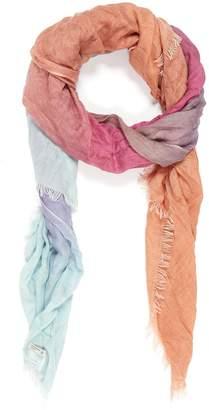 Faliero Sarti 'Hella' degrade cashmere-silk scarf