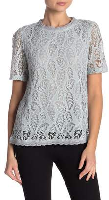 Hazel Short Sleeve Lace Blouse