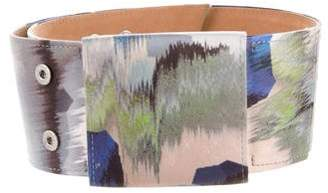 Giorgio Armani Printed Oversize Belt
