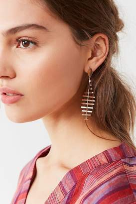 Urban Outfitters Fish Bone Statement Drop Earring