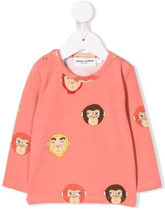 Mini Rodini monkey print sweatshirt