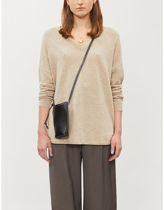 Chinti and Parker V-neck cashmere jumper
