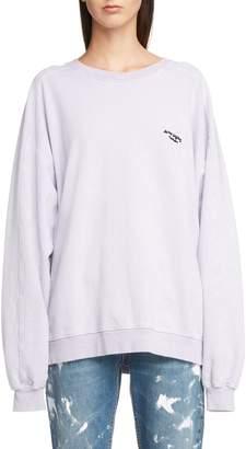 Acne Studios Embroidered Logo Sweatshirt