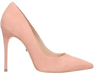 Schutz Pink Suede Leather Pumps