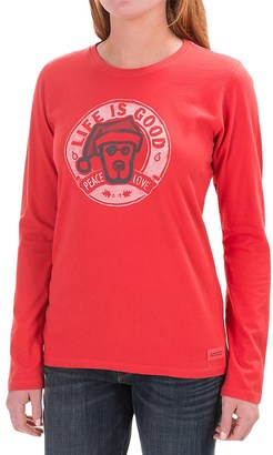 Life is good® Crusher Shirt - Long Sleeve (For Women) $14.99 thestylecure.com