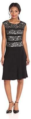 Kasper Women's Bonded Lace Sheath Dress