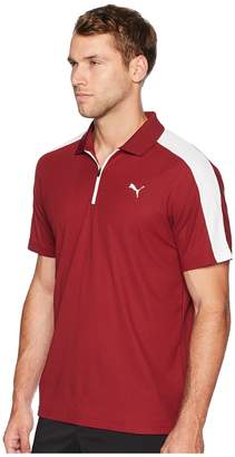 Puma T7 Golf Polo Men's Short Sleeve Pullover