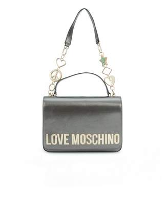 Love Moschino Accessories Charm Chain Top Handle Bag Col