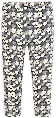 Mayoral Girls Heart-Themed Leggings