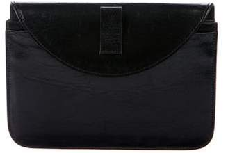 Maison Margiela Leather Flap Clutch