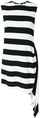 Calvin Klein striped flared dress