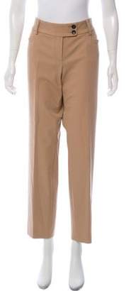 Rene Lezard Mid-Rise Straight-Leg Pants w/ Tags