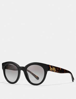Coach Signature Round Sunglasses