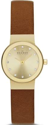 Skagen SKW2175 Gold Tone Stainless Steel Quartz 22mm Womens Watch