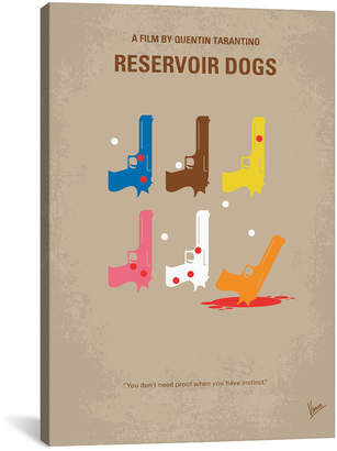 Icanvasart Reservoir Dogs Minimal Movie Poster By Chungkong