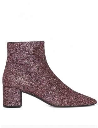 Saint Laurent Pink Boots For Women - ShopStyle UK 6a4bddf96