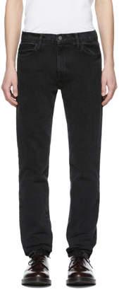 424 Black 424 Straight-Leg Jeans