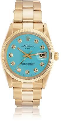 Vintage Watch Women's Rolex 1966 Oyster Perpetual Date Watch