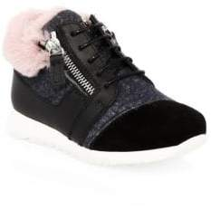 Giuseppe Zanotti Baby's, Toddler's& Girl's Leather& Suede Booties
