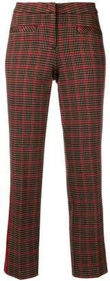 Cambio checked trousers