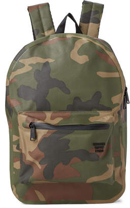 Herschel Camo Settlement Laptop Tarpaulin Backpack