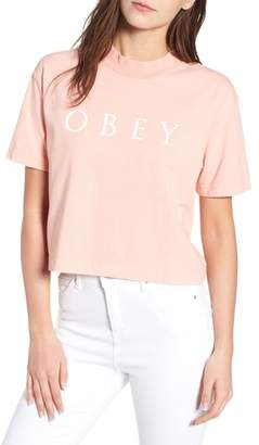 Obey Novel II Crop Tee