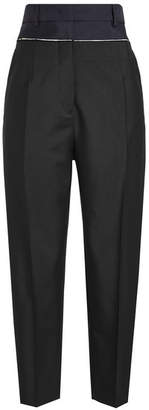 Jil Sander Basic Ezra Pants in Wool and Mohair