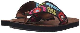 Acorn ArtWalk Leather Flip Women's Sandals