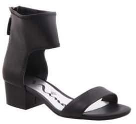 Nina Vallory Zippered Sandals