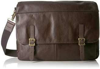 Fossil Men's Defender Leather Messenger Bag