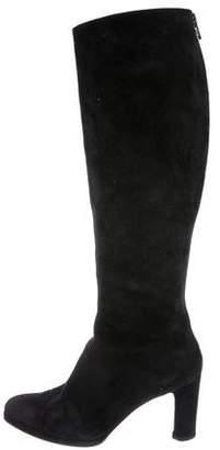 Walter Steiger Suede Knee-High Boots