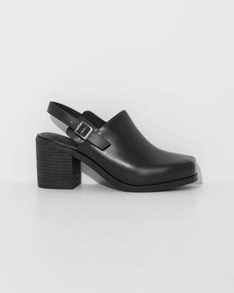 Intentionally Blank Black Honcho Ankle boots