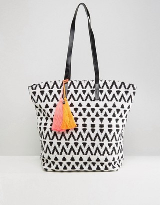 Seafolly Tassel Tote Bag $105 thestylecure.com