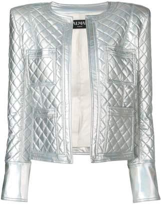 Balmain embossed surface jacket