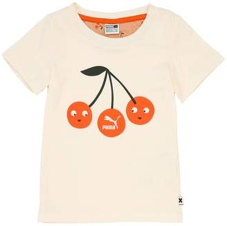 Puma X Tiny Cottons Printed Cotton Jersey T-Shirt