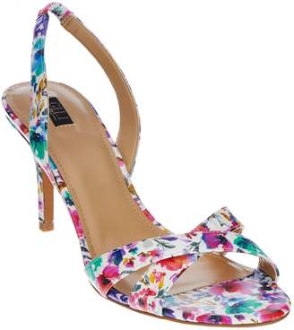 Loren G.I.L.I. Got It Love It G.I.L.I. Cross-band Sling Back Mid-heel Pumps