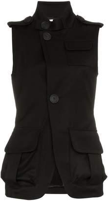 Wales Bonner Sleeveless Military Jacket
